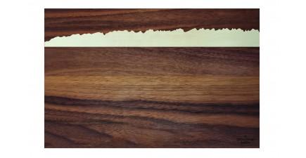 Wilder Kaiser, Holz-Schneidebrett 30 cm