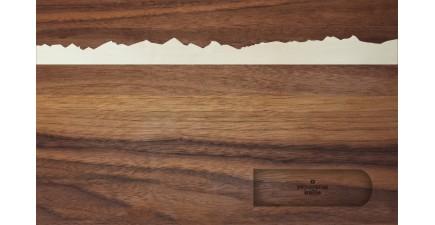 Grossglockner, Holz-Schneidebrett 40 cm magnetisch